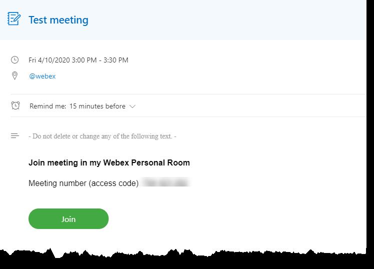 scheduled meeting
