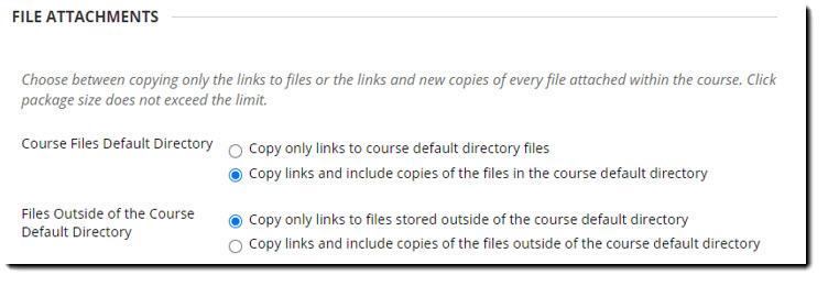 File attachements screen grab.